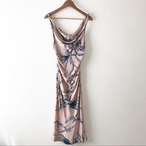 Dianna Von Furstenberg silk floral summer dress